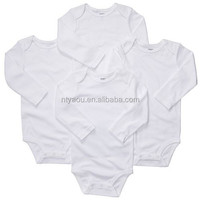 2015 wholesale 4-pk. Solid Bodysuits - Baby- Baby romper set from China