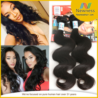 Street price 100 percent remy human 6a hair extensions body wave sexy hair