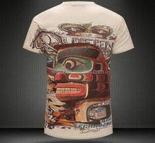 Design new products men fashion discount printed t shirts