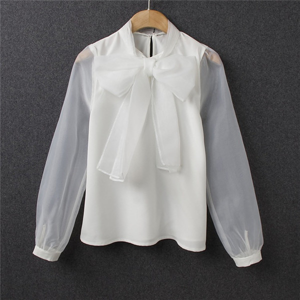 Where To Buy Bow Tie Blouses 84