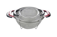 kitchen helper stainless steel kitchen drawer basket for fruit and vegetable