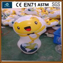 cartoon inflatable tumbler,pvc tumbler,inflatable toys