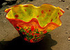Fanshion and hotsell murano glass fruit bowl