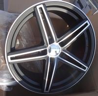 Car alloy wheel rim with pcd 98 108 100 112
