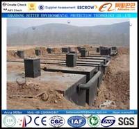 600CBM/day Hospital Daily Wastewater Treatment System, complete underground sewage disposal machine