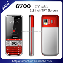 2.2 inch low cost mobile phone 6700 cheap handset Support MP3 MP4 mobile phone