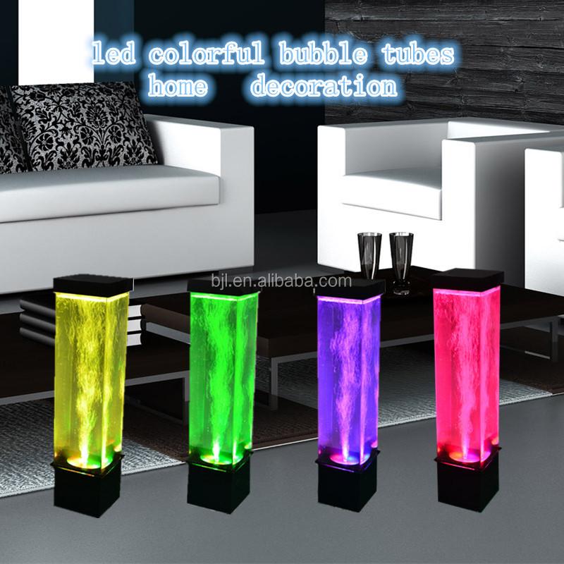 Lumineux bulle tube de l 39 eau tuyaux en plastique id de produit 6011991980 - Tube a bulle lumineux ...
