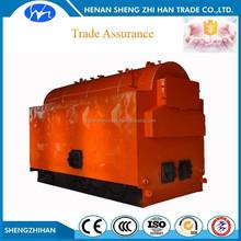 Trade Assurance DZH water fire tube coal fired steam boiler for sale