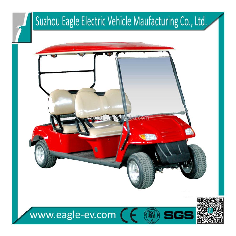 6 Seater Electric Club Cart 4x4 Golf Carts Electric Motor