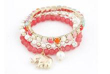 beads anti-static bracelet elephant bracelet