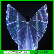 Luminous isis wings belly dance light up isis wing sale led belly dance costume wings