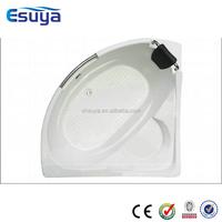 Shanghai suya tubs productiong new design bathroom bath style cheap corner acrylic bathtub