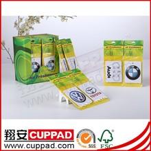 new design shoe car paper air freshener