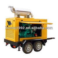 500kVA Diesel Car Wheel Generator