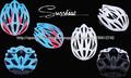 Casco con el carbón, casco extremo de la bici de la sol A005Sport del deporte