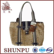 wholesale lady fancy tote leather handbags