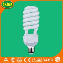 Half spiral china factory energy saving bulb