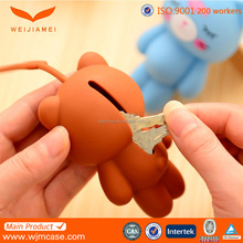 new arrival rubber key cover,custom free key case,cartoon key cover