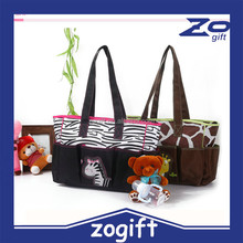 ZOGIFT High quality Multifunctional Nappy Mummy Bag Maternity Handbag Diaper Bags baby Tote Organizer bag