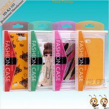 custom design pvc retail packaging for mobile phone case retail packaging