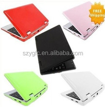 NEW 7 inch mini laptop netbook via 8850 Android 4.1 or CE 7.0 support Flash10.1 DDR2 512MB 4GB HDD WIFI SD CARD