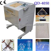 mini cortador grabadora láser/Pequeño Cortadora Grabadora Láser de Escritorio QD-4050