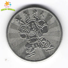 Cook Is. embossed edge lettering token with high quality