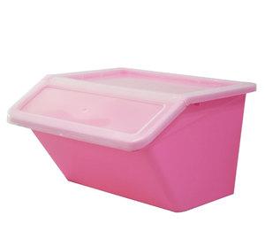 Kunststoff Garten Stamm unterwäsche Puppe Spielzeug Tuch Stapel Faltbare Falten Bin Aufbewahrungsbox