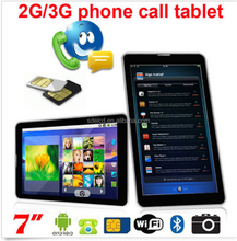 """7"""" Android 4.4 Tablet PC, dual Core Phablet GSM 3G Phone FREE 32GB microSD Unlocked"""