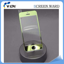 Color tempered glass screen protector for iphone 5 Fashion Design 9H hardness