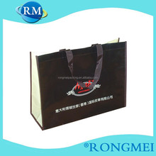 colorful printing nonwoven bags have cooperated with Italy famous brand buy reusable