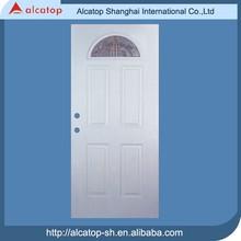 popular half moon glass insert main entrance door