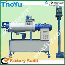 El estiércol de la máquina de deshidratación