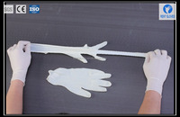 sample free disposable sterile medical latex surgical powdered and powder free gloves