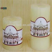 Chiesa candela, memoriale votive candela, candela pilastro bianco