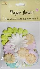 pastello decorativo fiori di carta fai da te
