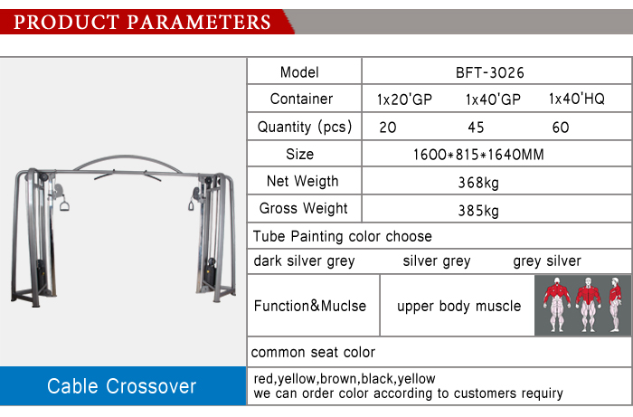 cable crossover machine/cable exercise equipment