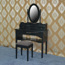Antique dressing table oak wooden with painted finish