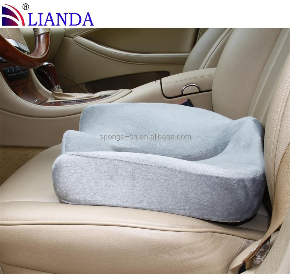 car bamboo cover memory foam seat cushions pu anti decubitus hemorrhoids car seat cushion buy. Black Bedroom Furniture Sets. Home Design Ideas