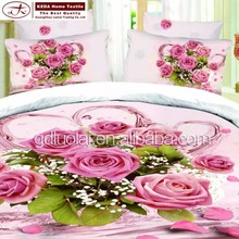2015 new product cotton 3d duvet cover set