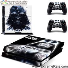 star guerra Black Knight per PS4 PlayStation 4 controller della console coperchio autoadesivo