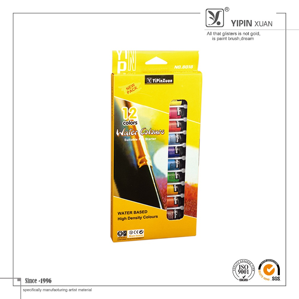 High quality colorful artist water color paint buy watercolor paint paint color paint product - High quality exterior paint set ...