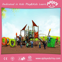 Asource commercial outdoor play structure for kids outside playing in the garden and preschool