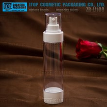 ZB-LI100 100ml standard capacity wide application competitive price good pump quality airless bottle for skin whitening body