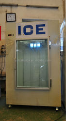 Solar Power Bagged Ice Bin /ice making equipment/solar powered refrigerated containers