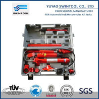 10ton hydraulic porta power jack/auto body repairing kit