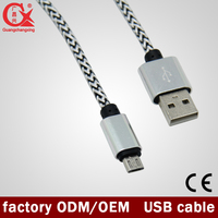 High speed micro USB cable for mobile phone cable