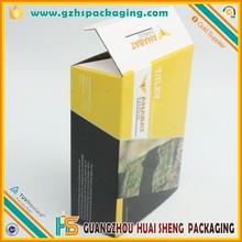 Guangzhou professional made corrugated carton box specification