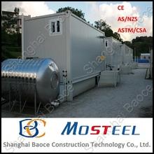 Profesional y moderna construcciones portátiles