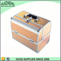 Hot beauty case hard toiletry bag makeup box aluminum vanity box